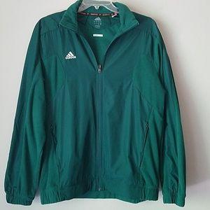 Hunter Green Adidas Jacket